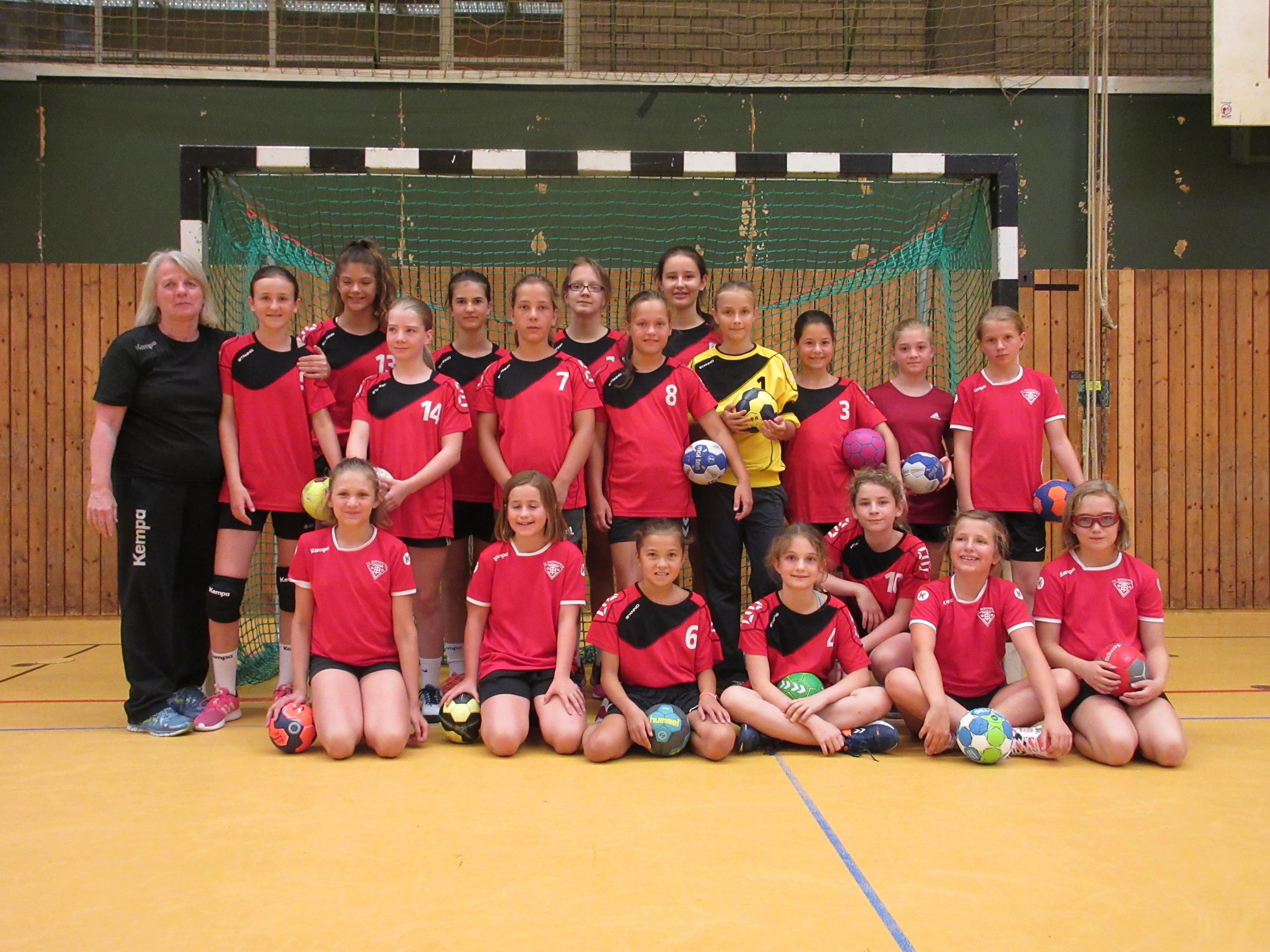 Kreisauswahl Turnier der Handball Mädels Jahrgang 2007