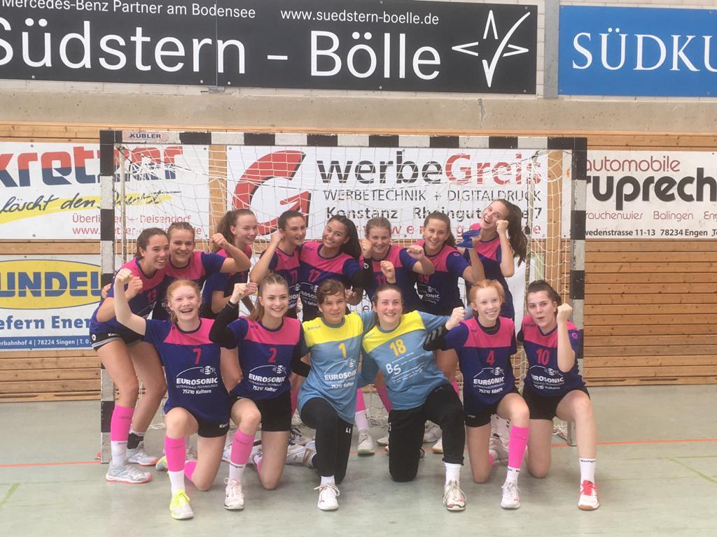 Weibliche B-Jugend startet mit 22:32 (9:15) Auswärtssieg in die BWOL-Runde 20/21